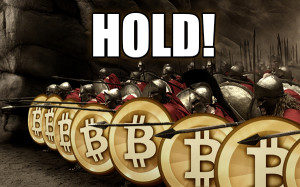 Hold Bitcoin, It will go back up!