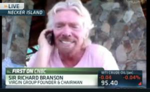 Billionaire entrepreneur Sir Richard Branson accepts bitcoin