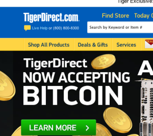 tigerdirect-bitcoin-news