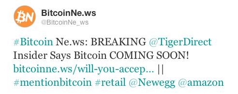 tigerdirect-tweet-bitcoin