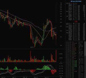 BitcoinWisdom shows the last breath of Mt. Gox, eve of 02/24/14.